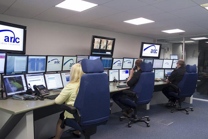 Arc Monitoring operator CCTV monitoring & alarm monitoring in control room