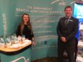 Arc employees on exhibition stand at Security Twenty event